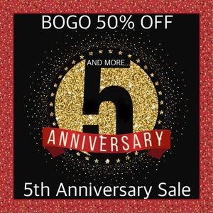 Other - BOGO 50% OFF 5th ANNIVERSARY SALE ❤️ for Sales!